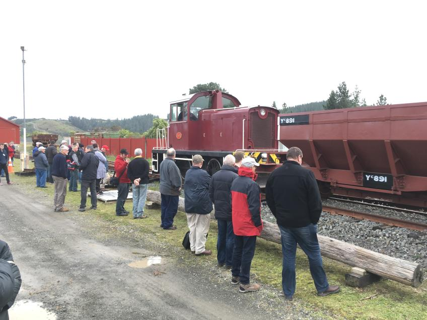 Visit to the Rimutaka Incline Railway,