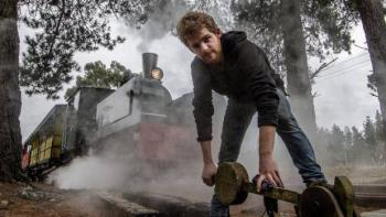 Mackwell Locomotive Company director Sam Mackwell has spent three years researching and developing a boiler for a sustainable new steam locomotive, to run on wood rather than the coal used in traditional steam trains.