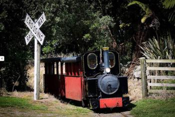 Train at Taranaki Pioneer Village